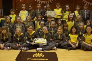 25 years of 2nd Haddenham Brownies