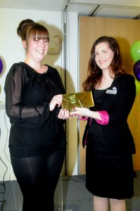 Courtney Milner (left) is Fenland Young Citizen of the year