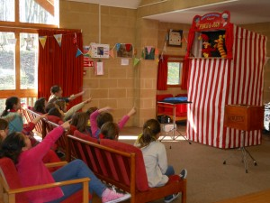 Punch and Judy at the Jarman Centre