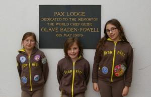 Trio of Brownies visit Pax Lodge
