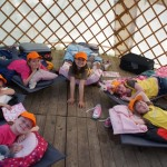 yurt is home to 2nd Haddenham Brownies