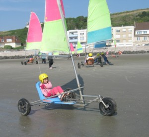 sand yachting