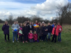 3rd Ely Guides nature challenges at Lee Valley