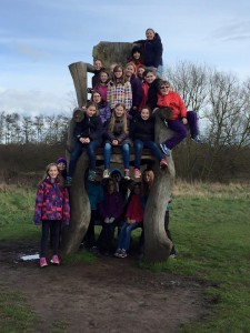 3rd Ely Guides outdoors at Lee Valley