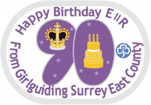 Queen's 90th Birthday Challenge Badge