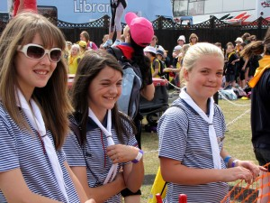 Guides at an event