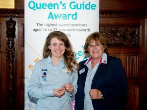 Queen's Guide Award - Rosalyn