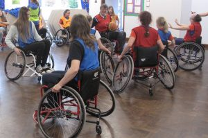 Anglia Outdoor Challenge - Wheelchair basketball