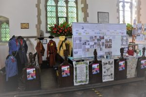 Guiding history display in Swavesey
